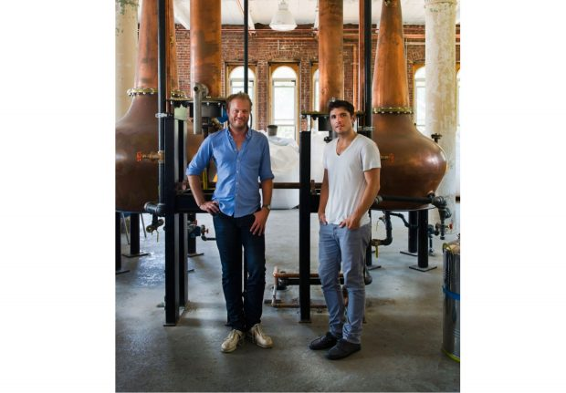 Co-founder & Master Distiller, Colin Spoelman and Co-founder David Haskell of Kings County Distillery